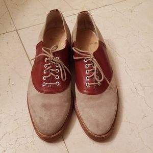 Ralph Lauren suede leather loafers shoes 7.5